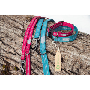 TRUE ADJUSTABLE LEASH BURGUNDY