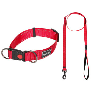 Puppy pack Bliss red S