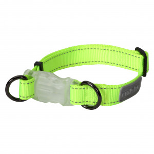 NEON LIGHT COLLAR YELLOW