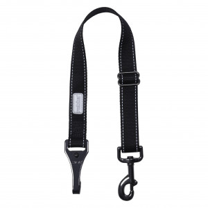 CAR SAFETY BELT EXTENSIO BLACK