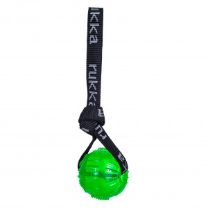 GEL BALL WITH HANDLE GREEN