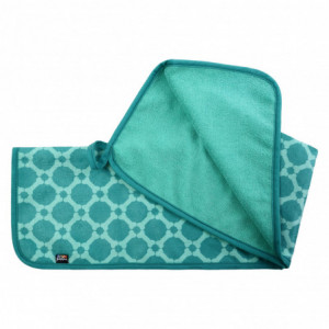 MICRO MEDIUM TOWEL EMERALD