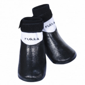 RUKKA RUBBER SOCKS BLACK