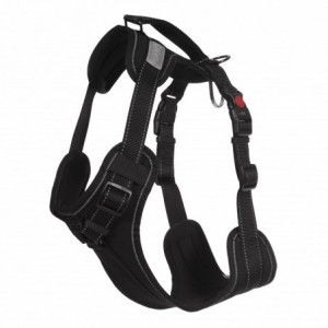 SOLID PADDED HARNESS BLACK