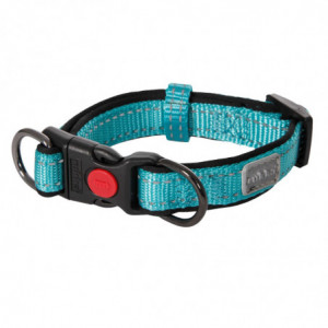SOLID ADJUSTABLE COLLAR TURQUOISE