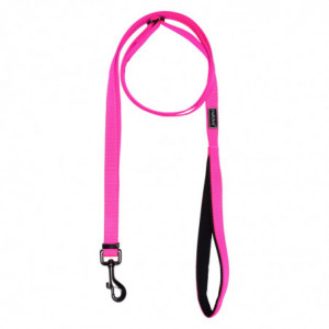 BLISS NEON ADJUSTABLE LEASH HOT PINK