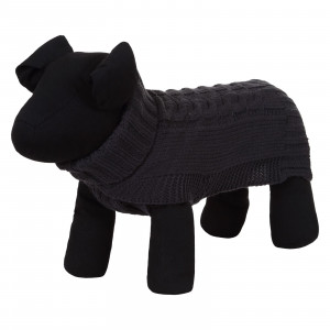 WOOLY SWEATER ANTHRACITE